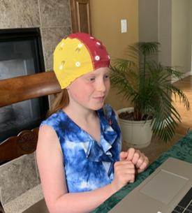 child getting brain map for neurofeedback to treat add/adhd