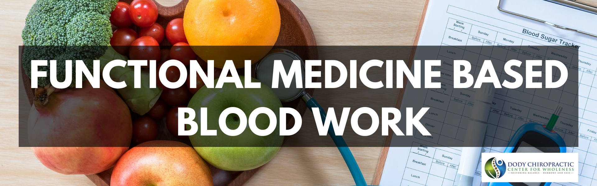 functional medicine nutrition blood work based